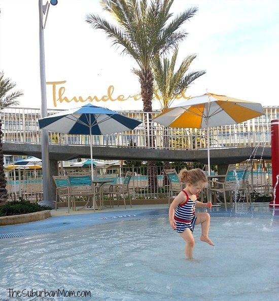 Cabana Bay Orlando Splash Pool