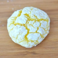 Easy Lemon Crackle Cookies, Free Printable