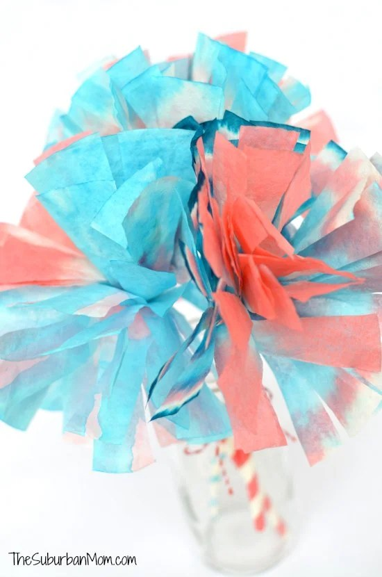 Coffee Filter Craft 4th of July