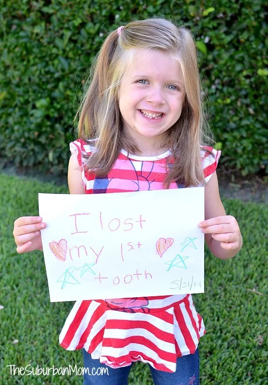 First Lost Tooth Sign
