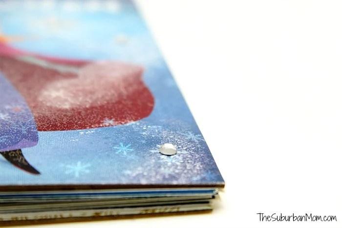 Frozen Book Craft