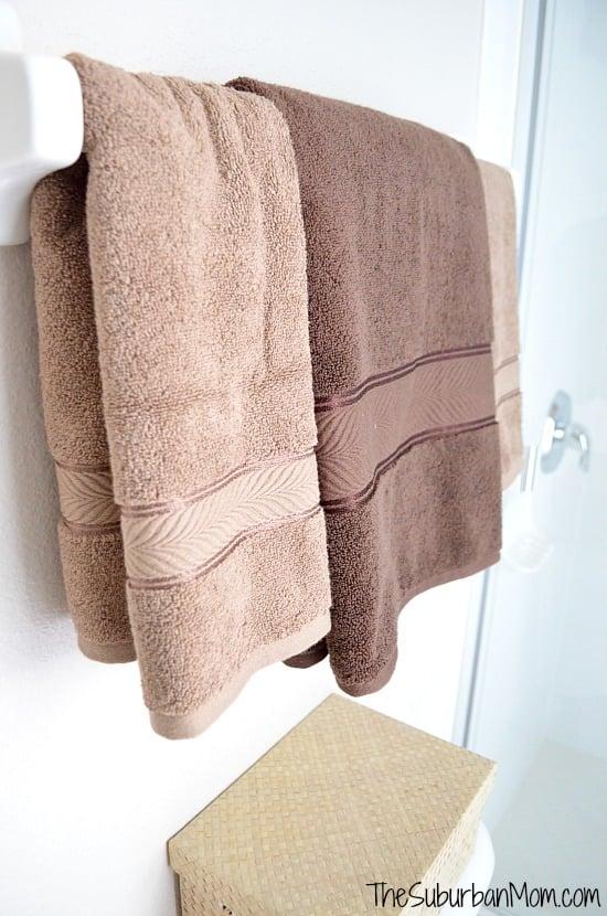 Guest Bathroom Towels