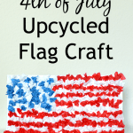 Easy 4th of July Flag Kids Craft