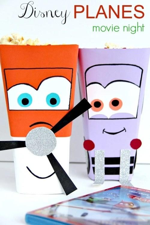 Disney Planes Popcorn Boxes