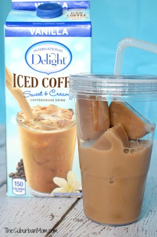 Frozen Iced Coffee Cubes