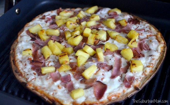 Grilled Hawaiian Pizza Recipe