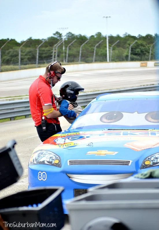 Richard Petty Junior Ride Along NASCAR