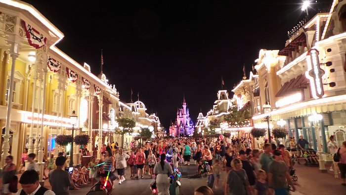 Walt Disney World Magic Kingdom Night