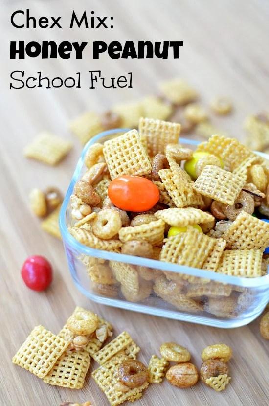 Chex Mix Honey Peanut School Fuel