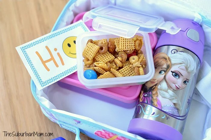 Chex Mix Lunch Box Snack