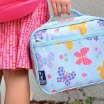Wildkin Olive Butterfly Lunch Box