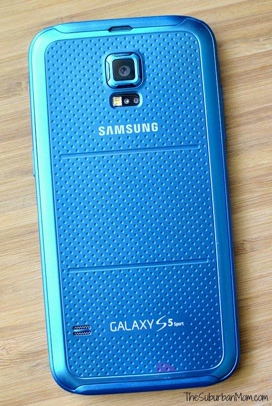 Blue Samsung Galaxy S5 Sport