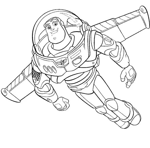 Toy Story Coloring Pages + Toy Story of Terror