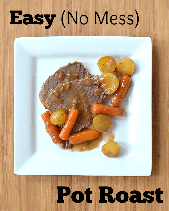 How to cook a pot roast in the oven bag