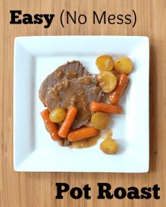 Easy Oven Bag Pot Roast Recipe