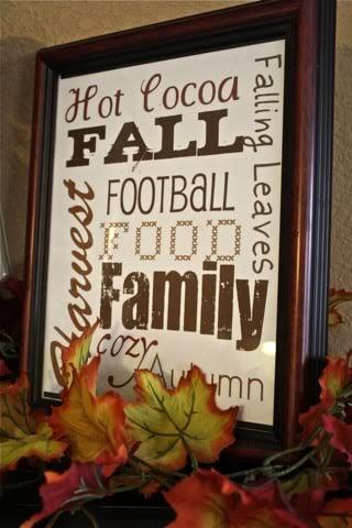 Free Printable Fall Sign