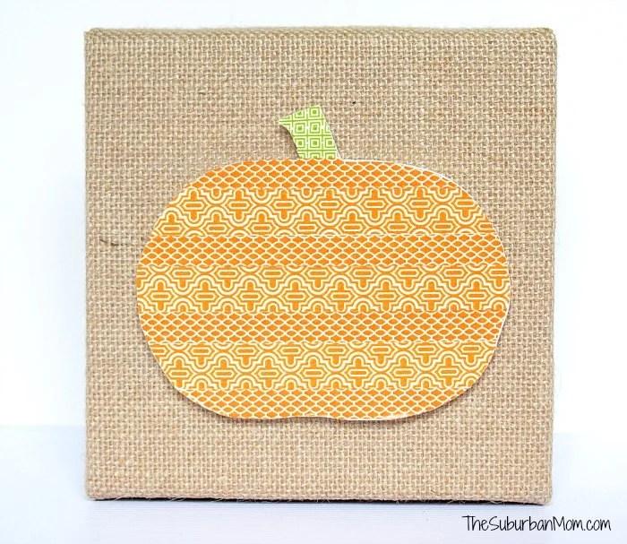 Fall Pumpkin Washi Tape Craft