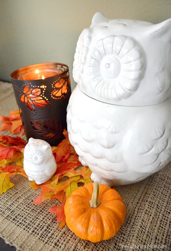 Owl Fall Table Decoration
