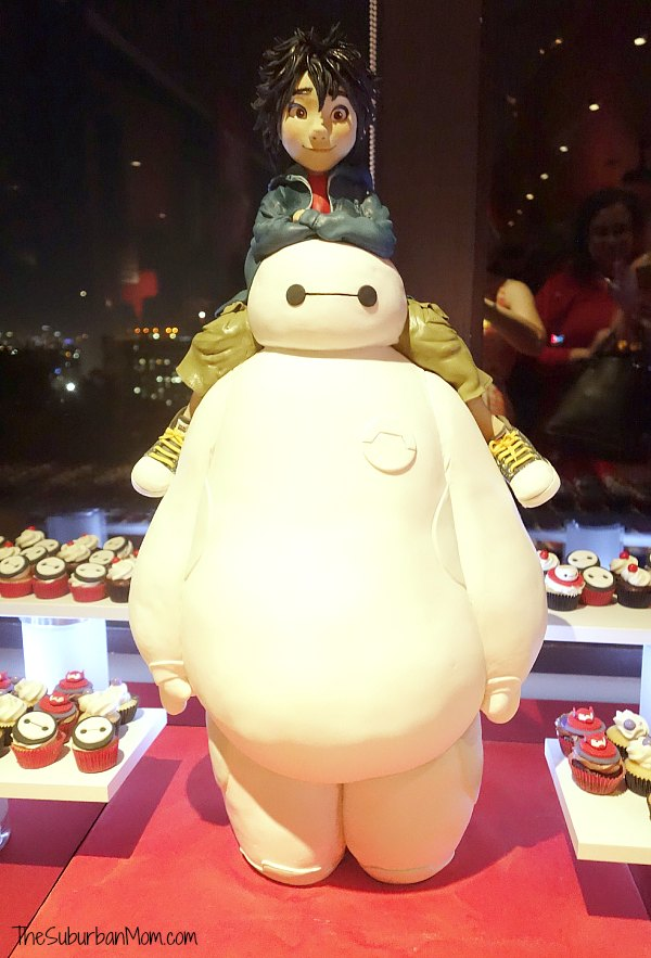Big Hero 6 Baymax Hiro Cake