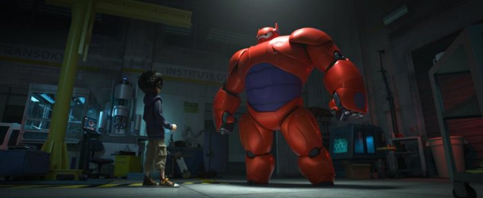Big Hero 6 Baymax Red Suit