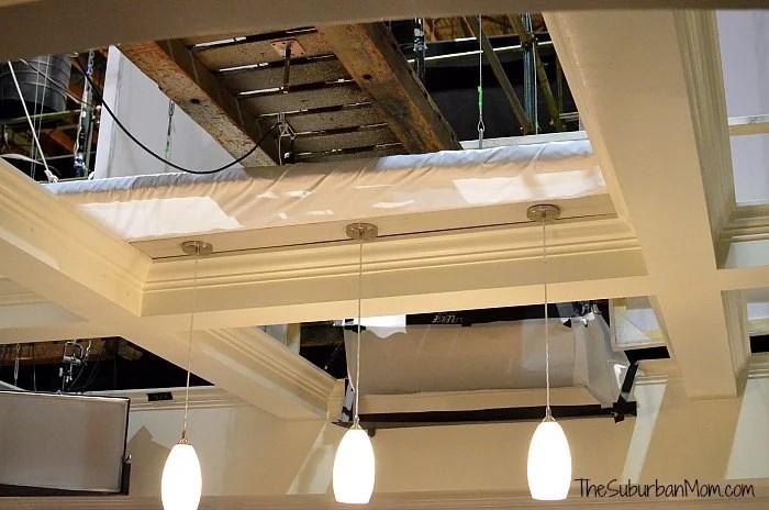 black-ish set ceiling