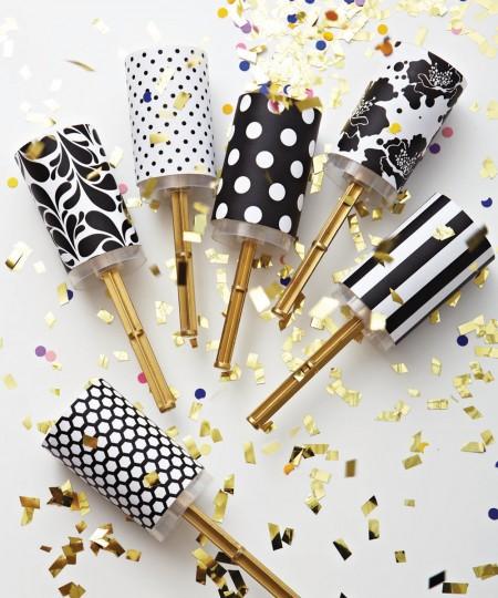 DIY NEw Years Eve Confetti Popper