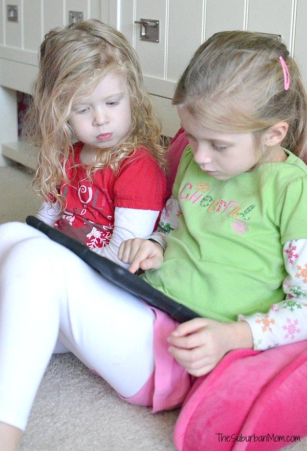Kids and iPad
