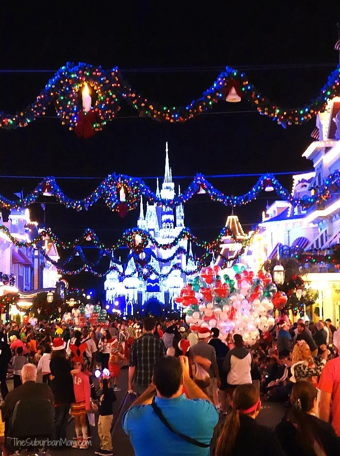 Magic Kingdom Main Street Christmas