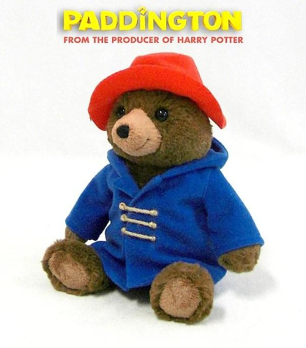 Stuffed Paddington Bear Plush