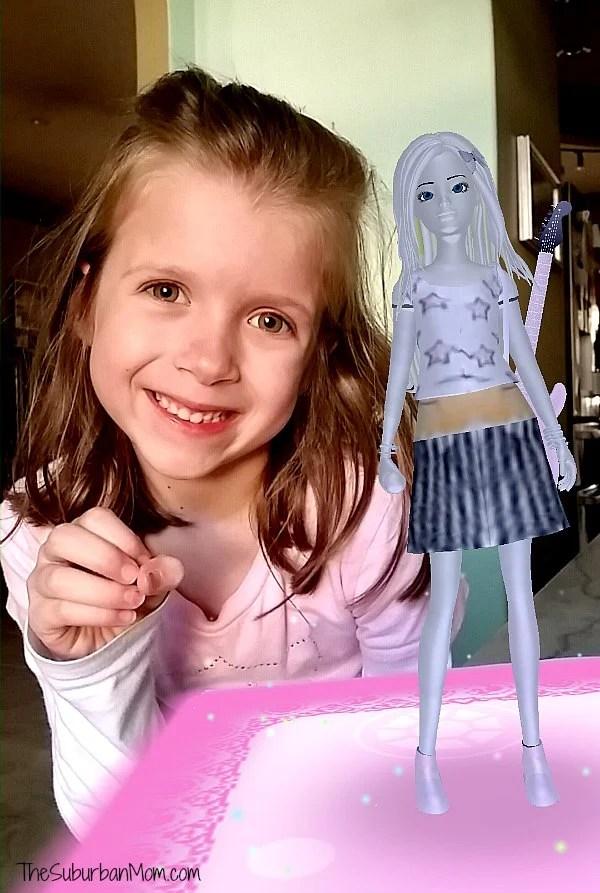 Crayola Color Alive Barbie Selfie