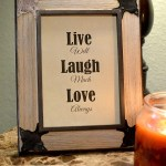 Life Laugh Love Printable Quote