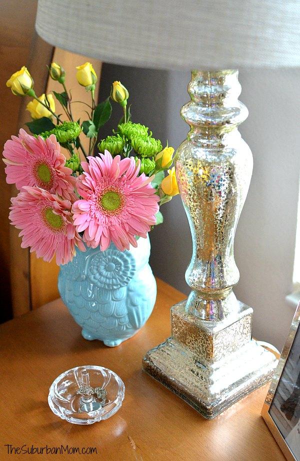 Mercury Glass Lamp