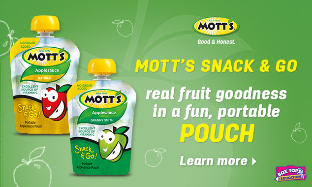 Motts Snack Go Pouch