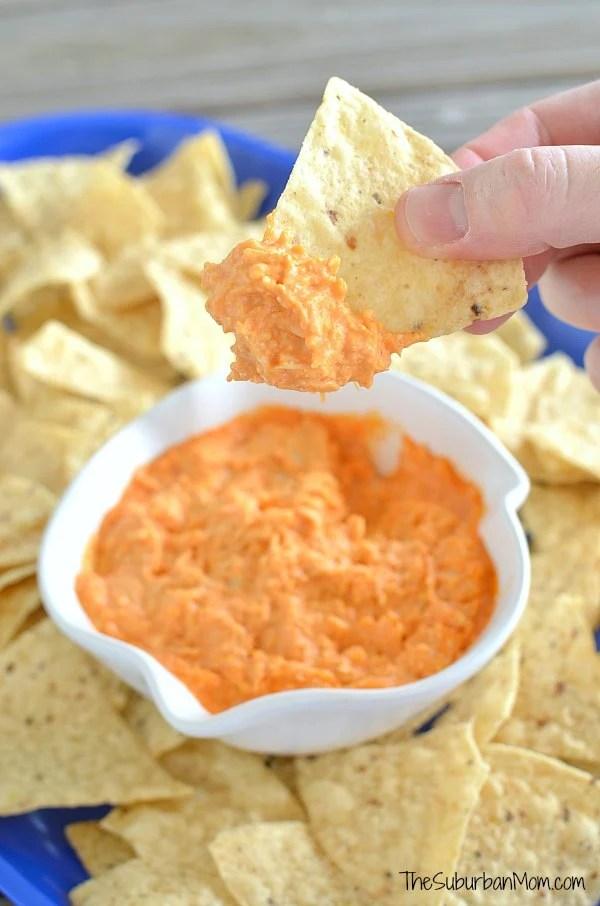Buffalo Chicken Dip Chips