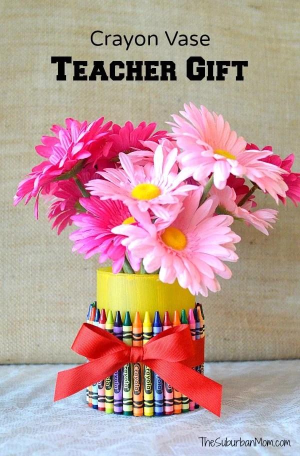 Crayon Vase Teacher Gift