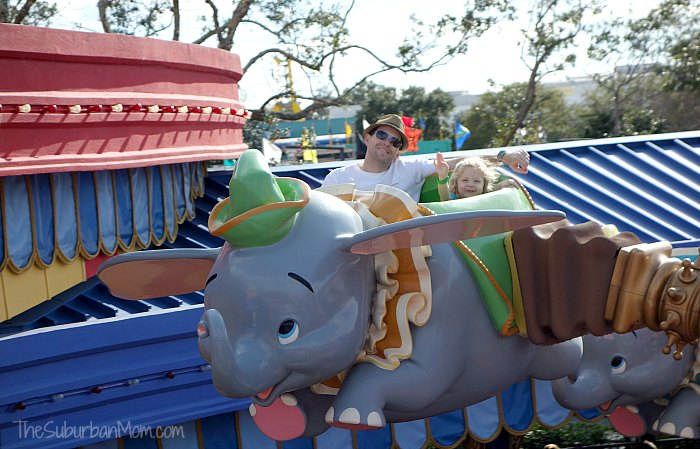 Disney Dumbo Ride