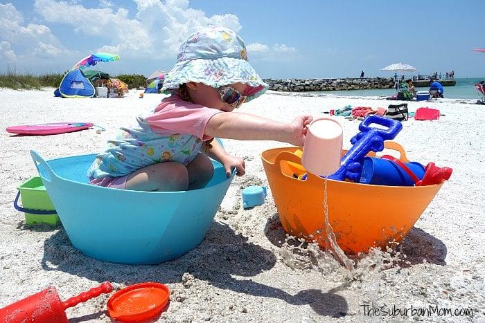 Toddler Beach Essentials