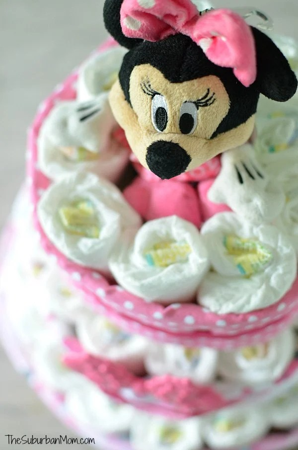 Disney Baby Diaper Cake