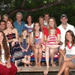 Family 4th of July