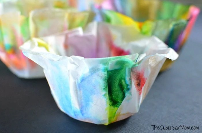 Chihuly Coffee Filter Craft