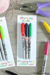 Sharpie Teachers Gift