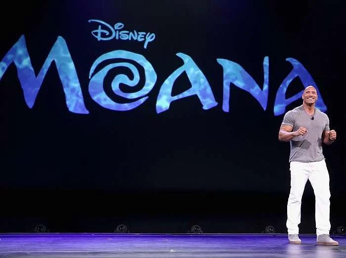 Disney Moana The Rock