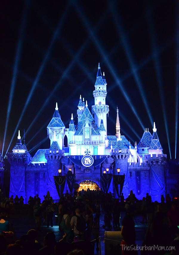 Disneyland Castle Diamond Anniversary