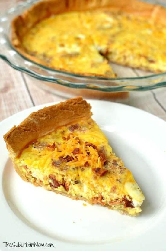 Egg and Bacon Quiche Recipe