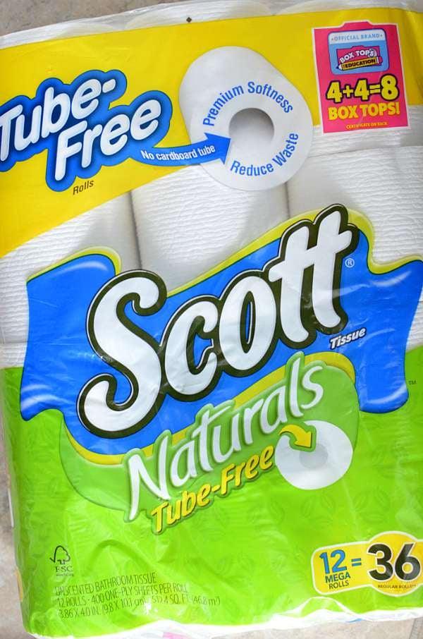 Scott Tube Free Toilet Paper 1
