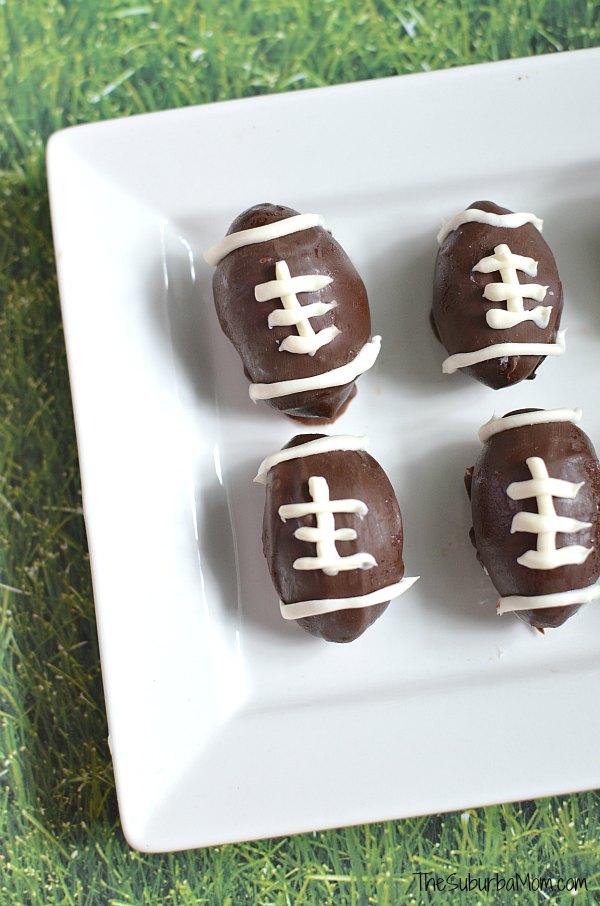 Chocolate Football Truffles