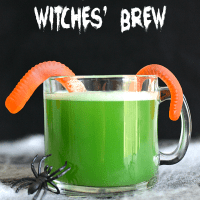 Kid-Friendly Witches' Brew Halloween Punch