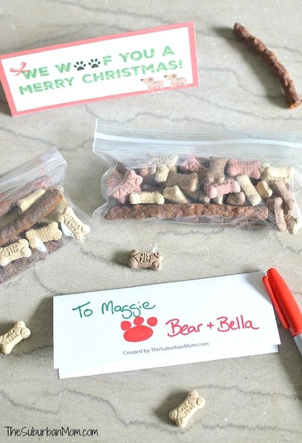 Christmas Dog Gift Tags