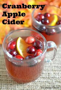 Cranberry Apple Cider