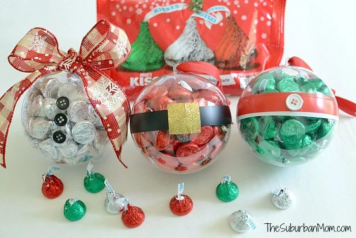 DIY Christmas Ornament Hershey's Kiss